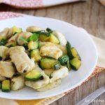Bocconcini di pollo con zucchine alla menta - ricetta light