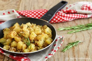patate sabbiose in padella ricetta