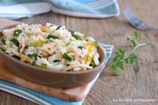 insalata di riso mare e terra ricetta