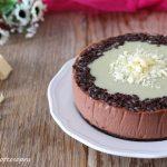 Cheesecake Nutella e cioccolato bianco