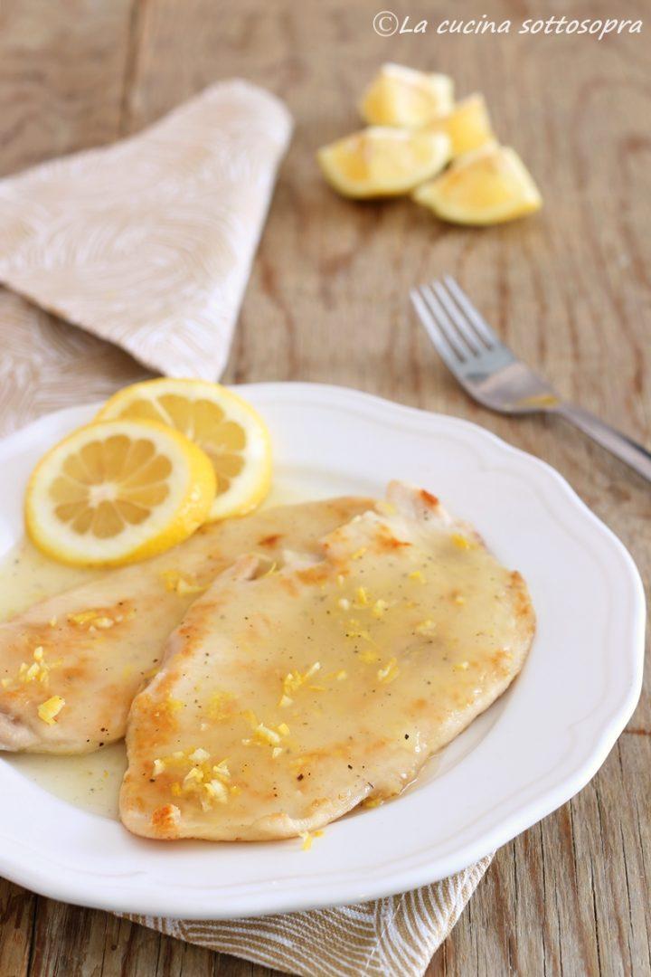petto di pollo con salsa al limone