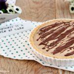 Crostata caffè e cioccolato allo yogurt - senza cottura