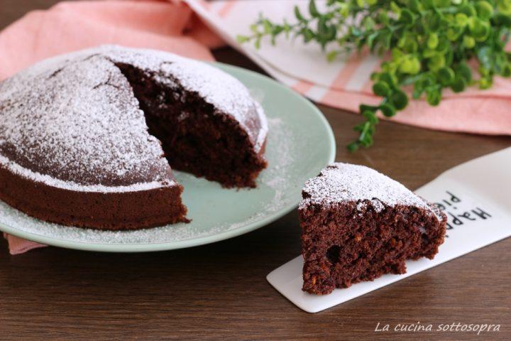 torta all'acqua arancia e cioccolato ricetta