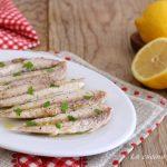Filetti di sgombro al limone - ricetta light