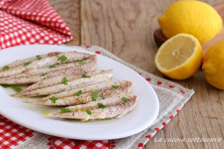 filetti di sgombro al limone ricetta light