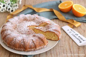 torta al succo d'arancia senza glutine latte e burro light