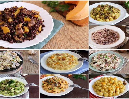 Ricette di primi piatti autunnali – raccolta di ricette