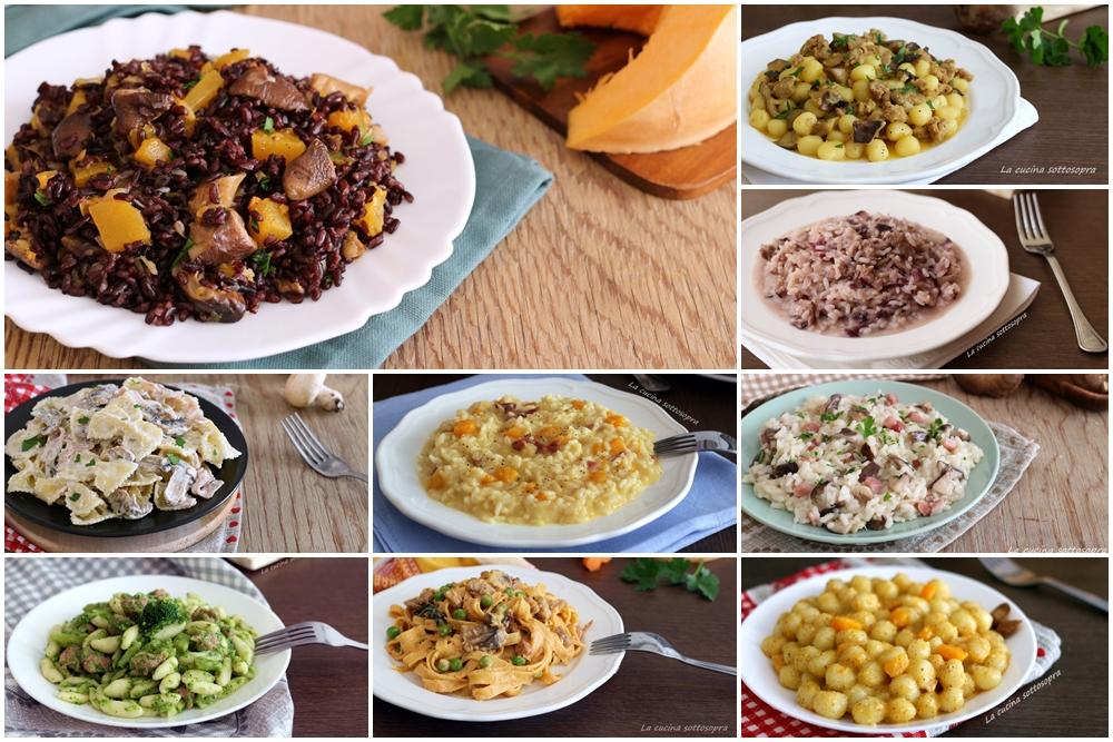Ricette di primi piatti autunnali raccolta di ricette for Ricette di primi piatti veloci