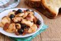 Pollo con pomodori secchi e olive