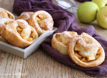 Girelle di brioche mele e cannella – senza lattosio