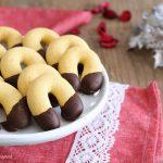 Biscotti ferri di cavallo come in pasticceria - ricetta senza uova