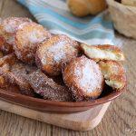 Frittelle dolci di pane - ricetta del riciclo