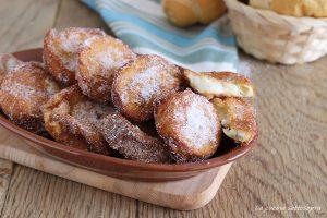 frittelle dolci di pane raffermo ricetta