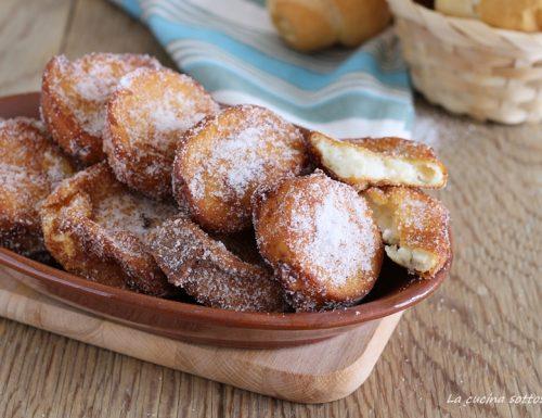 Frittelle dolci di pane – ricetta del riciclo