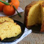 Torta ai mandarini frullati senza lattosio - con e senza Bimby