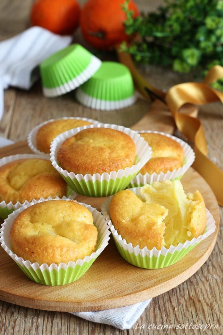 muffin melarancia senza lattosio