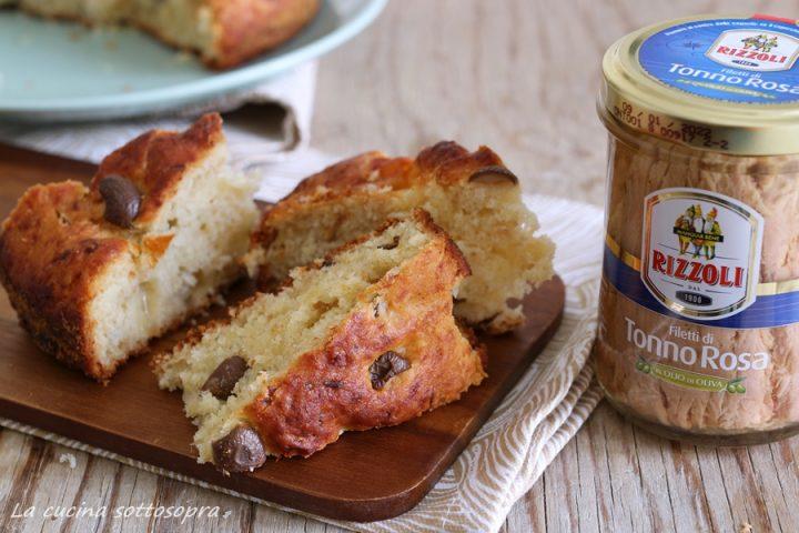 torta salata morbida tonno olive e mozzarella rizzoli emanuelli