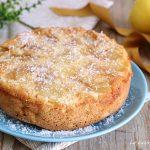Torta rovesciata di mele al cocco con Bimby e senza - senza lattosio