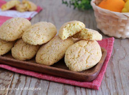 Biscotti inzupposi agli agrumi velocissimi – senza latte e burro