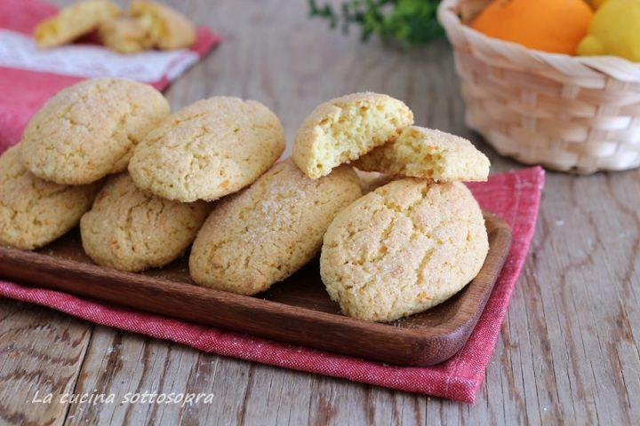 biscotti inzupposi agli agrumi velocissimi