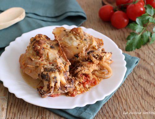 Seppie ripiene al forno – ricetta pugliese