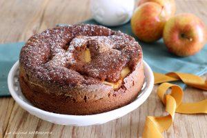 torta di mele al cioccolato fondente con bimby e senza bimby ricetta senza lattosio