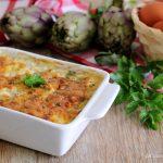 Tortino di carciofi e uova - ricetta pugliese