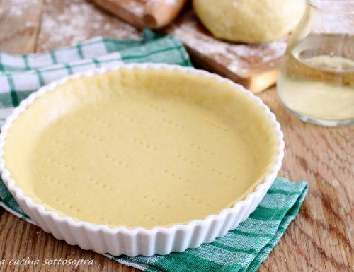 Pasta al vino per torte salate