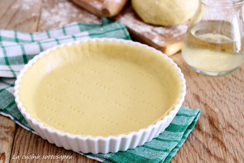 pasta al vino per torte salate ricetta senza burro