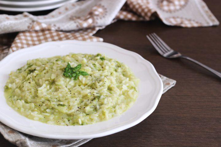 risotto asparagi e taleggio ricetta facile