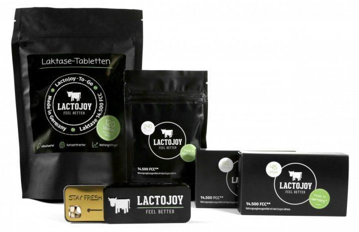 integratore di lattasi lactojoy
