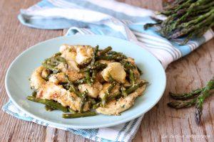 pollo con asparagi e semi di sesamo ricetta facile