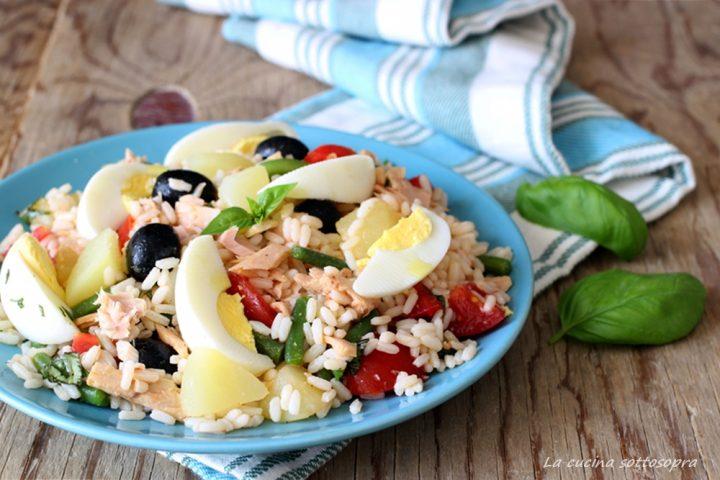 insalata di riso nizzarda piatto freddo estivo