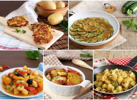 10 contorni con le verdure pronti in poco tempo
