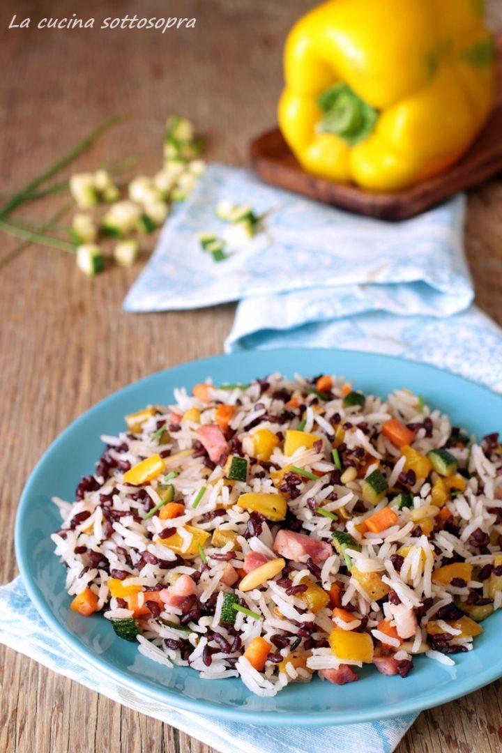 insalata di riso night and day di montersino