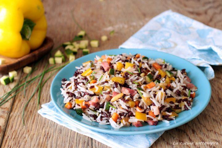 insalata di riso night and day di montersino ricetta estiva