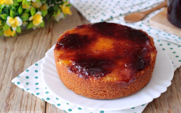 Torta 7 vasetti rovesciata alla marmellata
