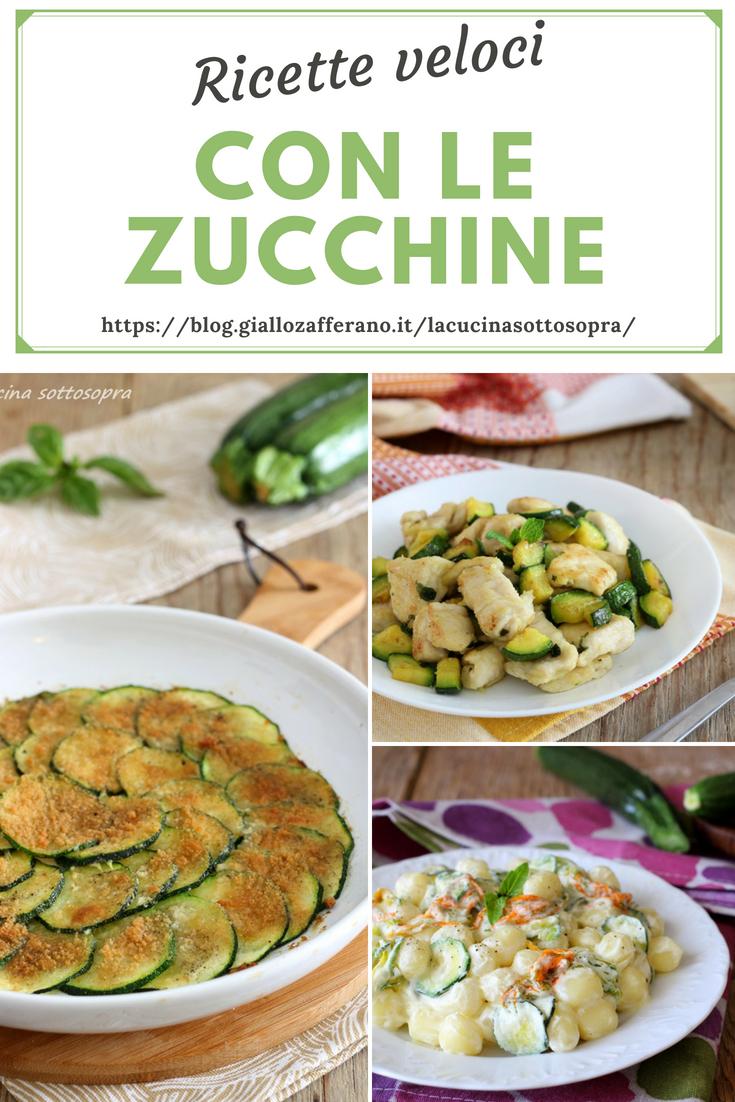 Ricette Zucchine Giallo Zafferano.Ricette Veloci Con Le Zucchine Sfiziose Ed Economiche La Cucina Sottosopra