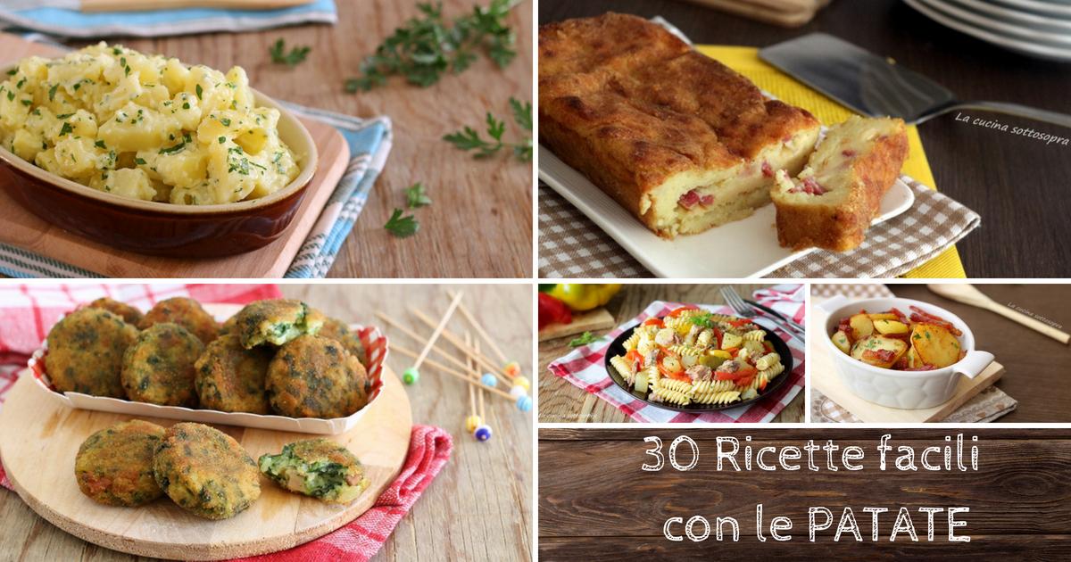 Ricette veloci con le patate raccolta di ricette facili for Ricette cucina facili