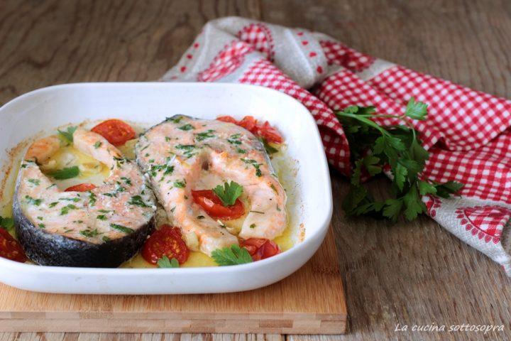 salmone al forno ricetta