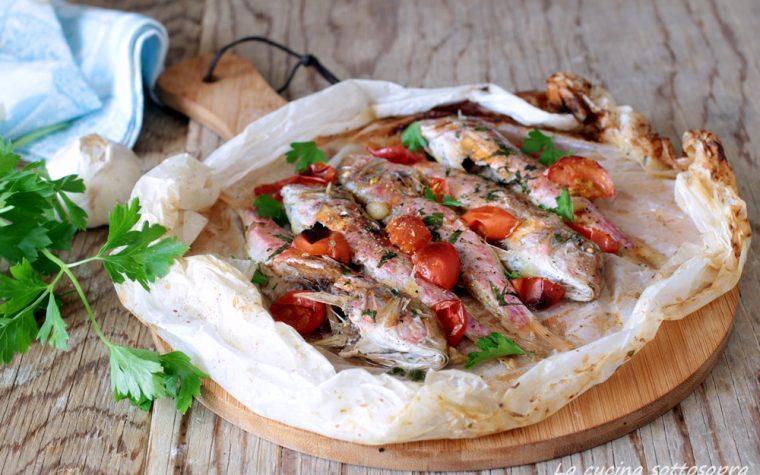 Triglie al cartoccio – ricetta light