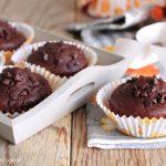 Muffin zucca e cioccolato senza burro