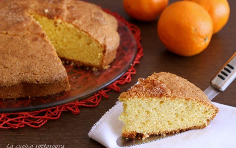 Torta pan d'arancio con Bimby e senza Bimby – velocissima con arancia frullata