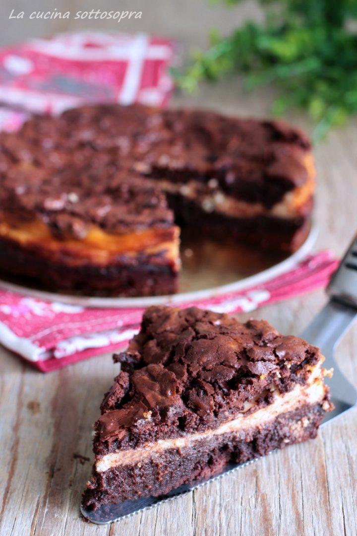 torta cioccolato e ricotta senza farina e senza glutine