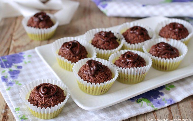 Dolcetti cocco e cioccolato – facilissimi e pronti in 20 minuti