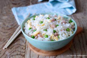 riso alla cantonese ricetta facile