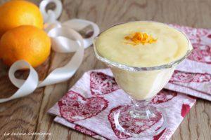 crema pasticcera all'arancia ricetta