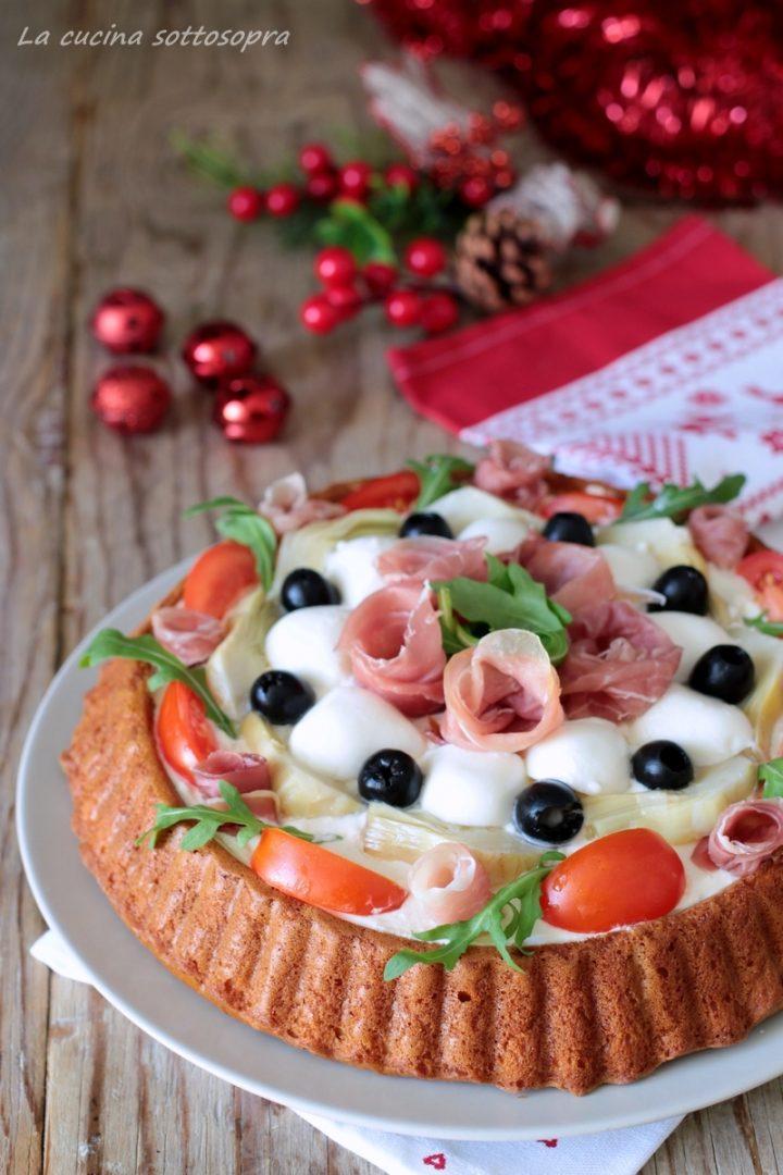 crostata morbida salata con Bimby e senza Bimby