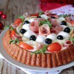 Crostata salata morbida con Bimby e senza Bimby
