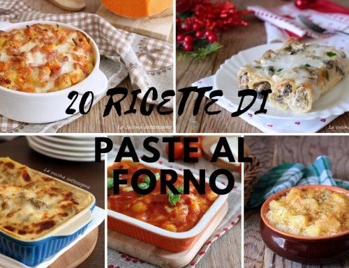 Primi piatti al forno – 20 ricette per tutte le occasioni
